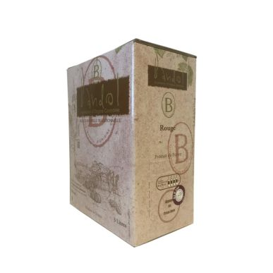 La Cadiérenne Cubi vin de Bandol Rouge Bag in Box vin de Bandol rosé