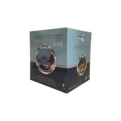 Bag in box 3litres vin rosé IGP de Méditerrannée
