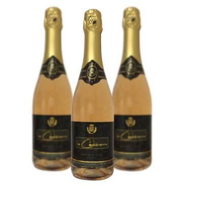 vin mousseux rosé doux fruité La Cadiérenne