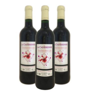 IGP vin de pays du Mont Caume La Cadiérenne Rouge