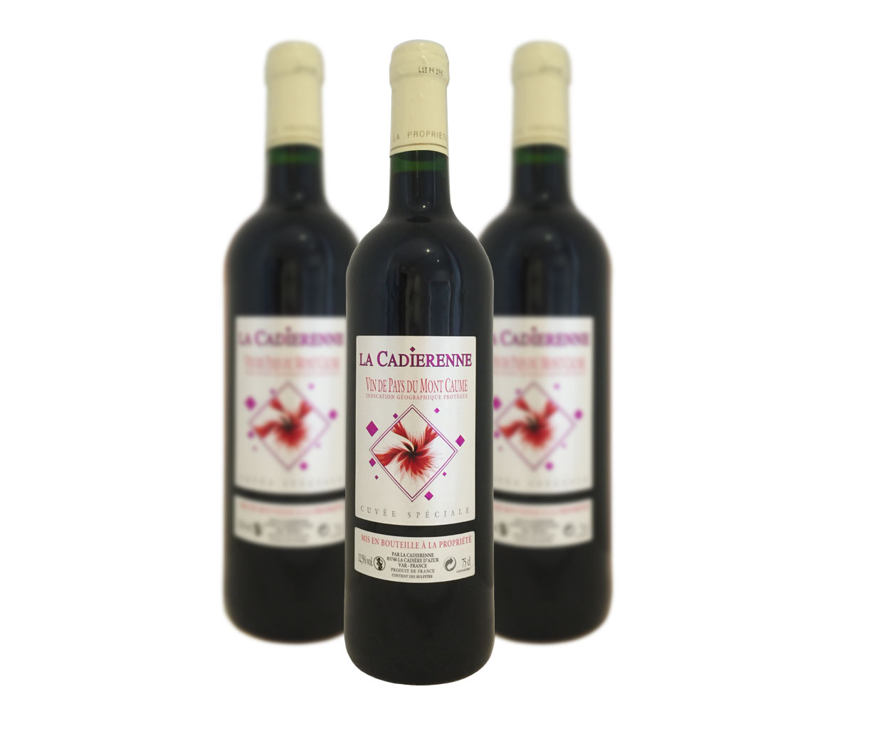 Vin de Pays Mont Caume Rouge La Cadiérenne