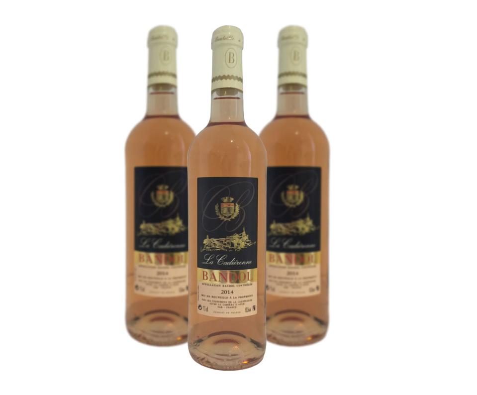 AOP Bandol Rosé La Cadiérenne