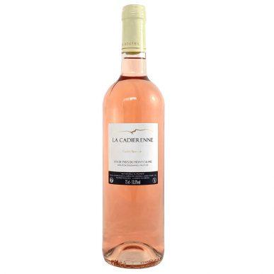 vin de pays mont caume rosé la cadierenne