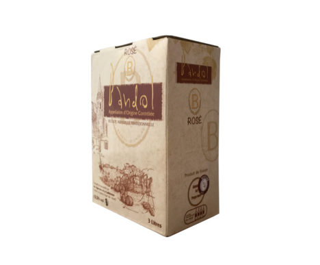 bag in box la cadierenne bandol rosé