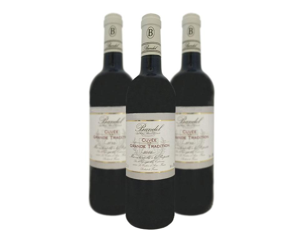vin de bandol rouge 2016 grande tradition la cadierenne