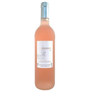 cotes de provence rosé la cadiérenne 2018