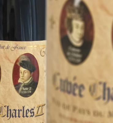Vin de Pays Mont Caume Charles IX Rouge