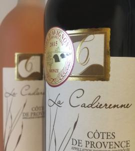 AOP Vin Côtes de Provence Rouge – 2016