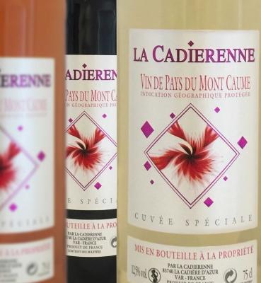 Vin de Pays Mont Caume Blanc