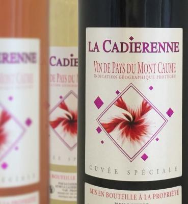 Vin de Pays Mont Caume Rouge